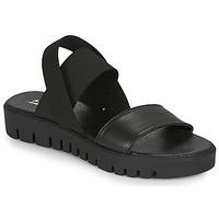 Schuhe Damen Sandalen / Sandaletten André EMY Schwarz