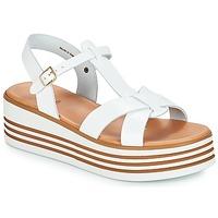 Schuhe Damen Sandalen / Sandaletten André LUANA Weiss