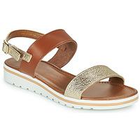 Schuhe Damen Sandalen / Sandaletten André ZANDORA Goldfarben
