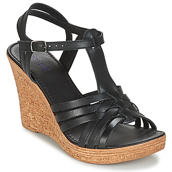 Schuhe Damen Sandalen / Sandaletten André FABULEUSE Schwarz