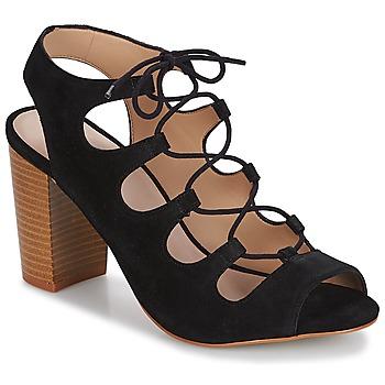 Schuhe Damen Sandalen / Sandaletten André LAETITIA Schwarz