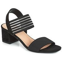 Schuhe Damen Sandalen / Sandaletten André CORFOU Schwarz