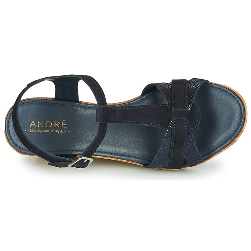 André ALOE Marine  Schuhe Sandalen / / / Sandaletten Damen 47,20 f0e86f