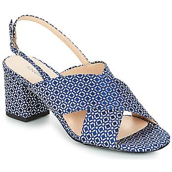 Schuhe Damen Sandalen / Sandaletten André LOYAUTE Blau