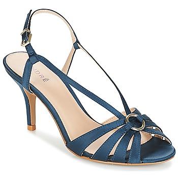 Schuhe Damen Sandalen / Sandaletten André MIRABELLE Blau