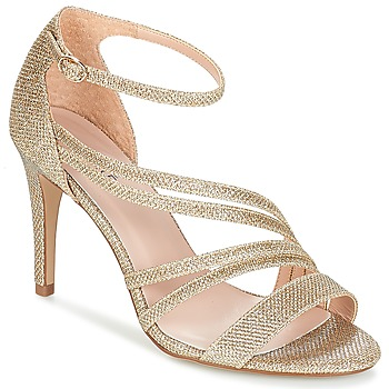 Schuhe Damen Sandalen / Sandaletten André FLAMINGO Goldfarben