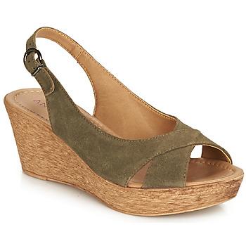 Schuhe Damen Sandalen / Sandaletten André DESTINY Kaki