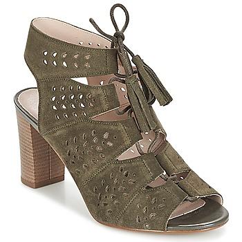 Schuhe Damen Sandalen / Sandaletten André THEI Kaki