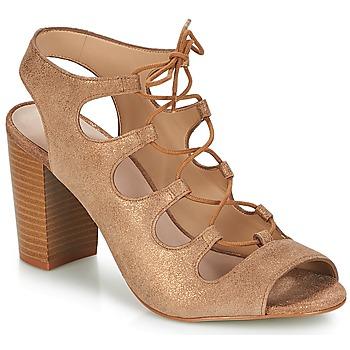 Schuhe Damen Sandalen / Sandaletten André LAETITIA Bronze