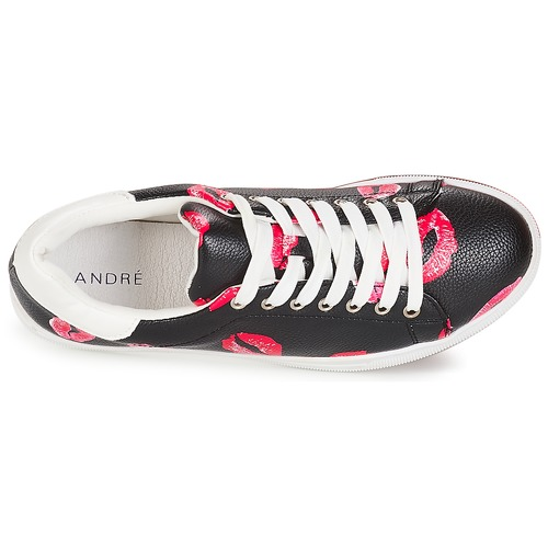 André KISSES Schwarz  35,20 Schuhe Sneaker Niedrig Damen 35,20  2a2e75