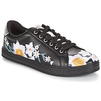 Schuhe Damen Sneaker Low André COROLLE Schwarz