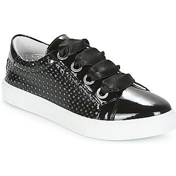 Schuhe Damen Sneaker Low André BEST Schwarz