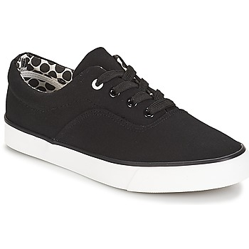 Schuhe Damen Sneaker Low André FUSION Schwarz