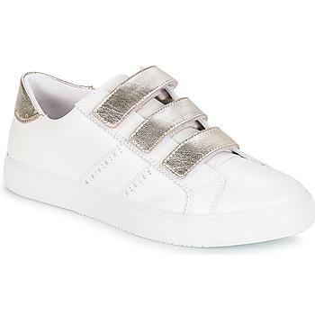 Schuhe Damen Sneaker Low André PADDLE Weiss