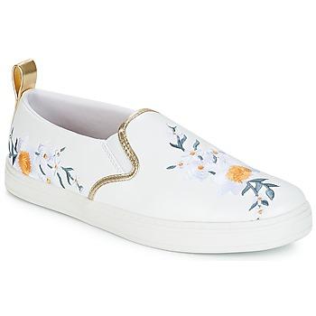 Schuhe Damen Slip on André CHARDON Weiss