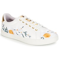 Schuhe Damen Sneaker Low André COROLLE Weiss