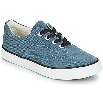 Schuhe Damen Sneaker Low André FUSION Blau