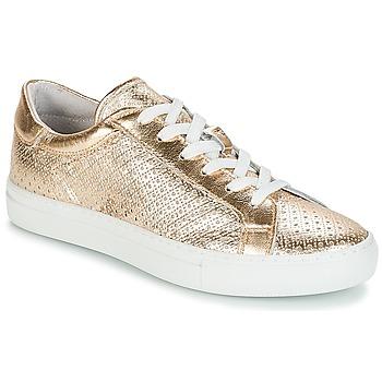 Schuhe Damen Sneaker Low André FELICIA Goldfarben