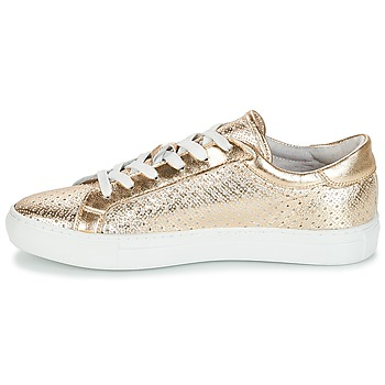 André FELICIA Goldfarben - Kostenloser Versand |  - Schuhe Sneaker Low Damen 5950