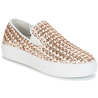 Schuhe Damen Slip on André TRESSE Goldfarben