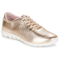 Schuhe Damen Sneaker Low André AIKIDO Goldfarben