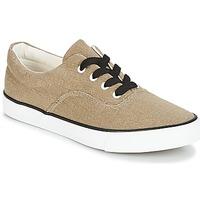 Schuhe Damen Sneaker Low André FUSION Goldfarben