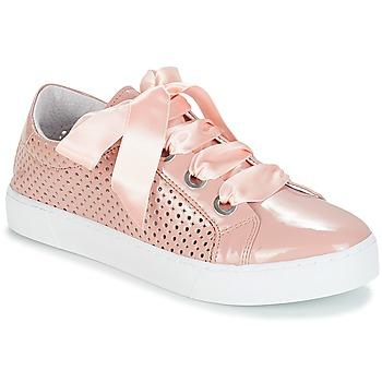 Schuhe Damen Sneaker Low André BEST Beige