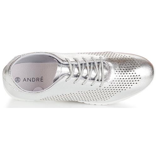 AIKIDO  André  sneaker low  damen  silbern