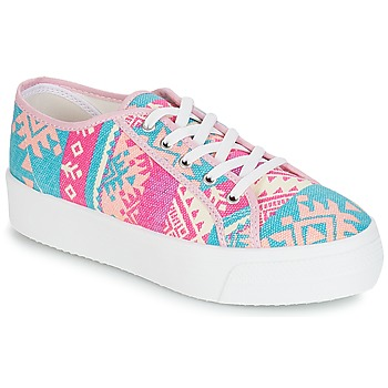 Schuhe Damen Sneaker Low André KITE Rose
