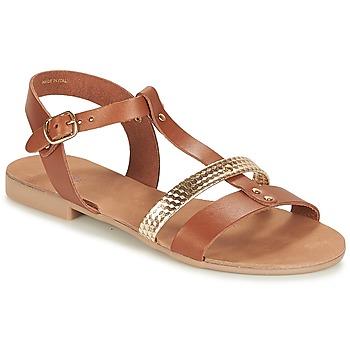 Schuhe Damen Sandalen / Sandaletten André CAYO COCOS Camel