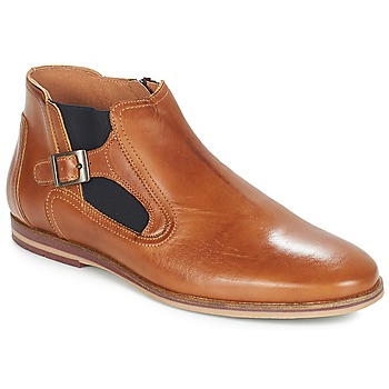 Schuhe Herren Boots André GAMIN Braun