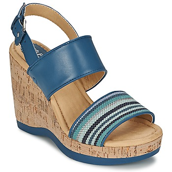Schuhe Damen Sandalen / Sandaletten Hush puppies GRACE LUCCA Blau