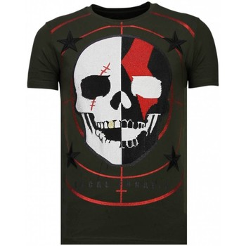 Kleidung Herren T-Shirts Local Fanatic God Of War Strass Grün