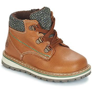 Schuhe Jungen Boots Citrouille et Compagnie JOBA Braun