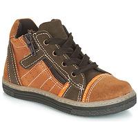 Schuhe Jungen Sneaker High Citrouille et Compagnie JESSICA Camel