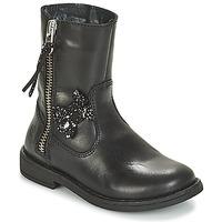 Schuhe Mädchen Boots Citrouille et Compagnie JARINDA Schwarz