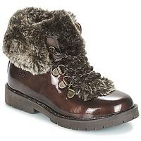 Schuhe Mädchen Boots Citrouille et Compagnie JITTER Braun