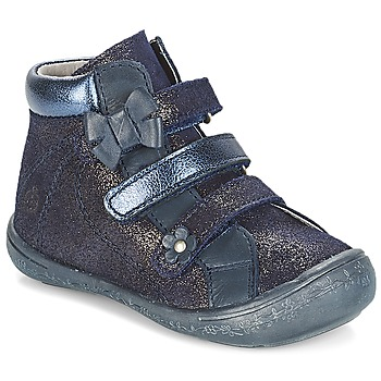 Schuhe Mädchen Boots Citrouille et Compagnie JODIL Blau