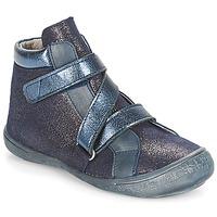 Schuhe Mädchen Boots Citrouille et Compagnie HISSOU Blau