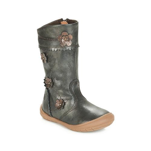 Schuhe Mädchen Klassische Stiefel Citrouille et Compagnie JAMATIS Bronze