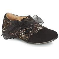 Schuhe Mädchen Derby-Schuhe Citrouille et Compagnie JETTRA Schwarz / Bronze