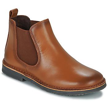 Schuhe Kinder Boots Citrouille et Compagnie JOVETTE Camel