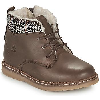 Schuhe Jungen Boots Citrouille et Compagnie JAMBOUT Braun