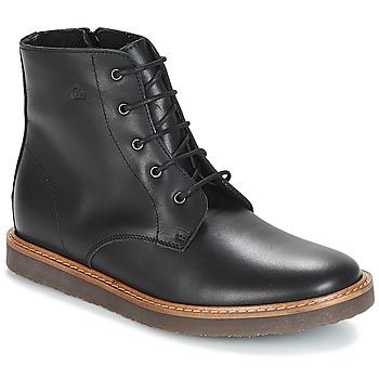 Schuhe Kinder Boots Citrouille et Compagnie JENKI Schwarz