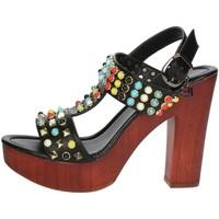 Schuhe Damen Sandalen / Sandaletten Laura Biagiotti 1010-X3 Schwarz