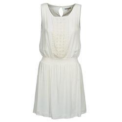 Kleidung Damen Kurze Kleider Best Mountain ROBALA Weiss