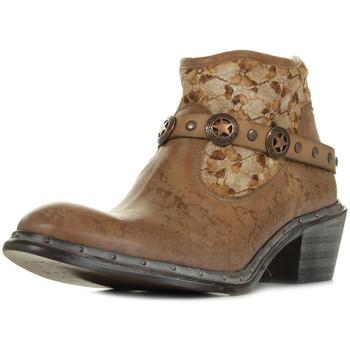 Schuhe Damen Boots Bunker Nely Jungle Camel Braun