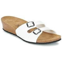 Schuhe Damen Pantoffel Papillio ANNE Weiss
