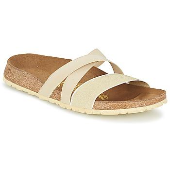 Schuhe Damen Sandalen / Sandaletten Papillio COSMA Beige / Goldfarben
