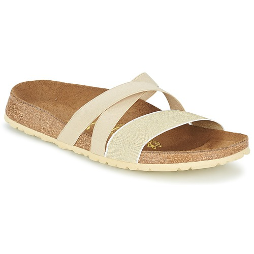 Sandalen / Sandaletten Papillio COSMA Beige / Goldfarben 350x350